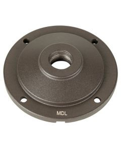MDL Cast Aluminum Round Surface Mount in Textured Architectural Bronze Finish