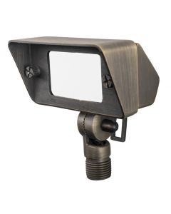 MDL Soft Radiance Accent Directional Flood Light in Cast Brass (Antique Bronze Finish)