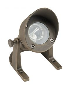 MDL Underwater Light with Shroud in Cast Brass (Antique Bronze Finish)